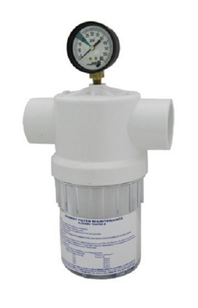 Energy Filter with Pressure Gauge