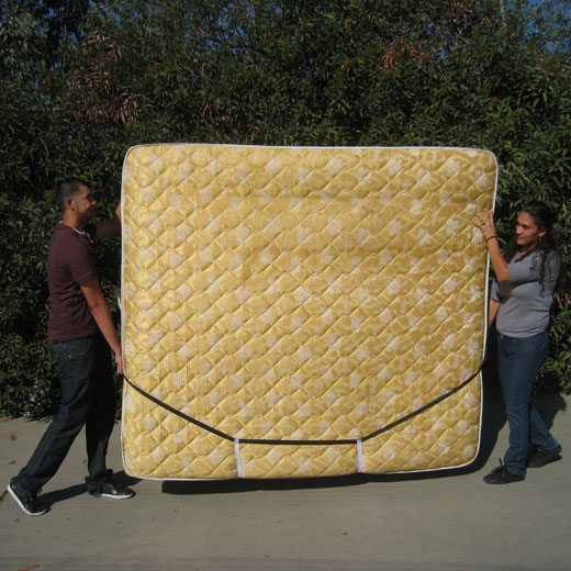 Mattress Mover - by Forearm Forklift