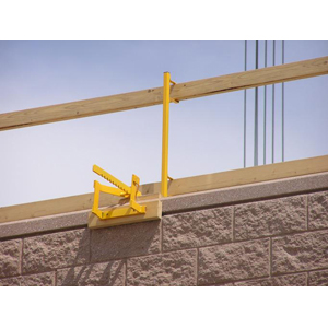 Parapet Wall Guardrail System