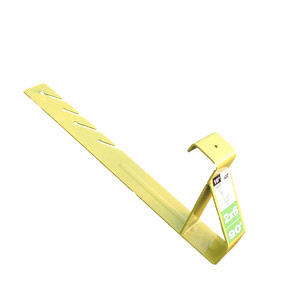 "Roof Bracket 16"" Back 90º (2x6 Plank) - carton of 12"