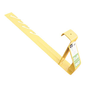 "Roof Bracket 19"" Back 45º (2x8 Plank) - carton of 12"