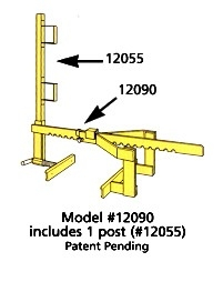 Replacement Post for Guard Rail Systems 12060,70&90