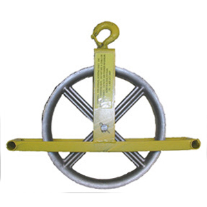 Hoisting Wheel with Hook