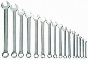 Wrench Set 16 Piece 1/4-1-1/4""