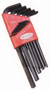 Ball End Hex Key Long 13 Piece