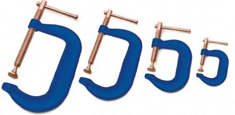4 Piece C-Clamp Set