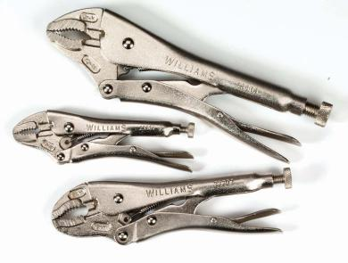 3 Piece Locking Pliers Set