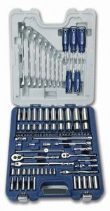 95 Piece Master Socket Wrench and Screwdriver Set