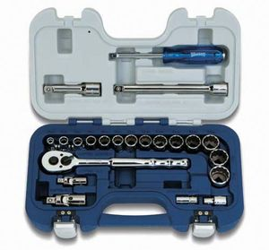 35 Piece Basic Tool Set Metric