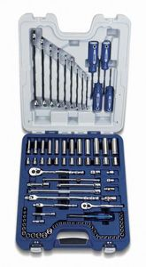 89 Piece Master Socket Wrench and Screwdriver Set