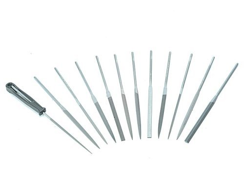 "12-Piece 6-1/4"" Smooth File Set"