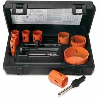 Professional Holesaw Set 13-Piece