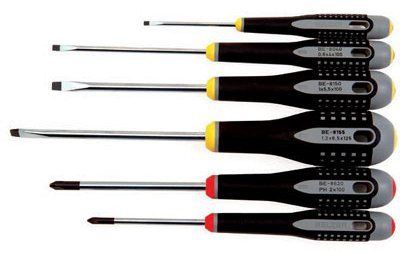 6 Piece Mixed ergo®Screwdriver Set