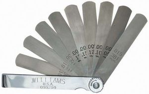 Std. Feeler Gauge Set