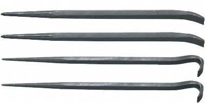 4-Piece Pinch/Roll Bar Set