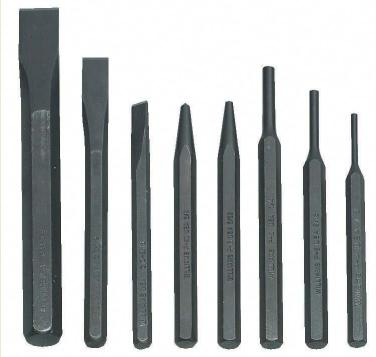 8-Piece Punch & Chisel Set