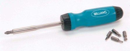 Ratcheting Screwdriver 9""
