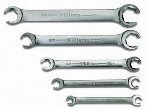 Flare Nut Wrench Set. 5-Piece