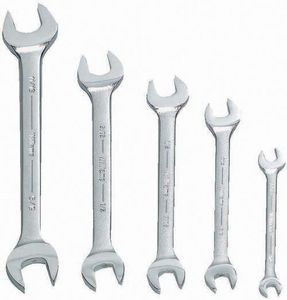 Open End Wrench Set 5 Piece
