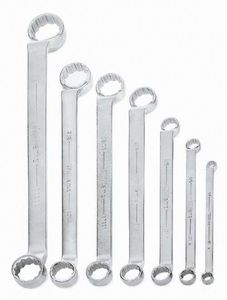 Offset Box Wrench Set 7 Piece
