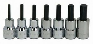 "3/8"" Drive Hex Bit Socket Set 7-Piece"