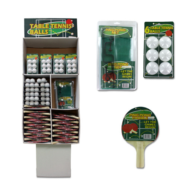 bulk buys Ping pong set Case of 134