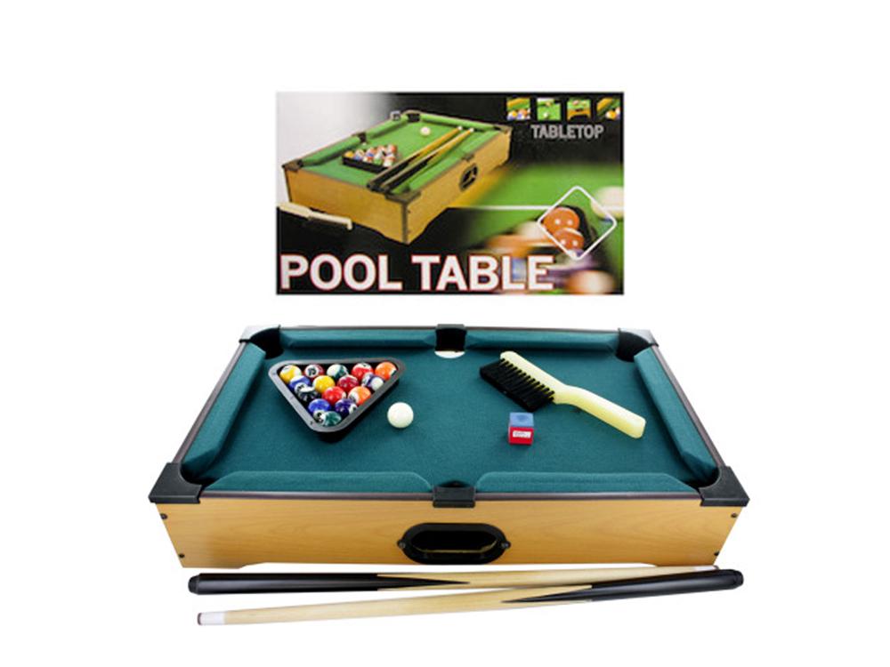 Tabletop Pool Table Pack of 1