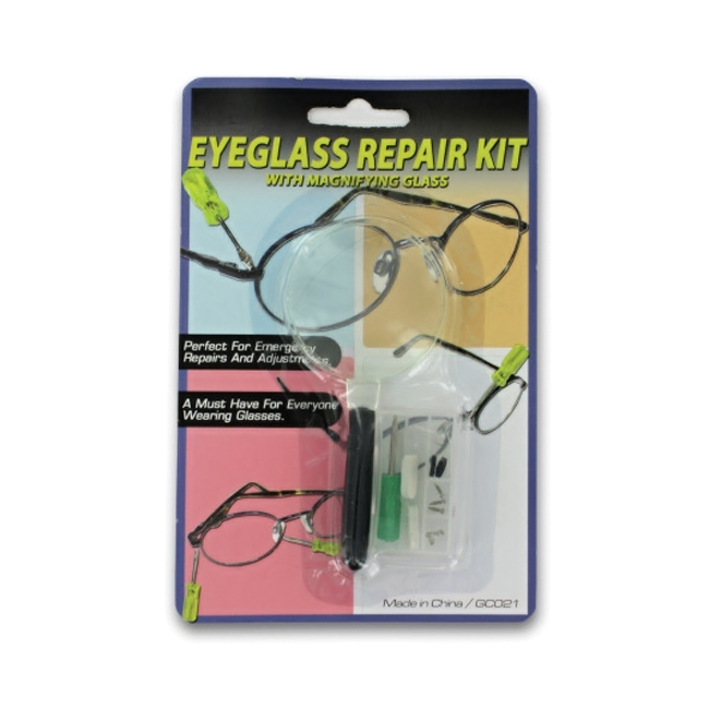 Eyeglass repair kit Pack 24