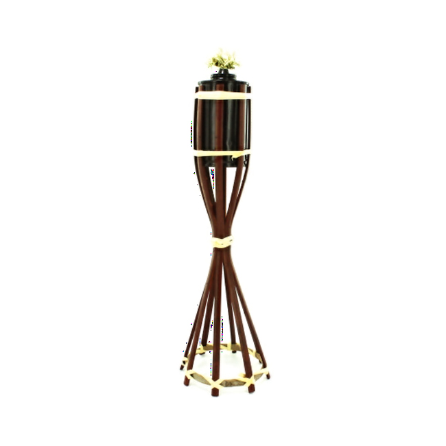 Wicker tiki torch Pack 25