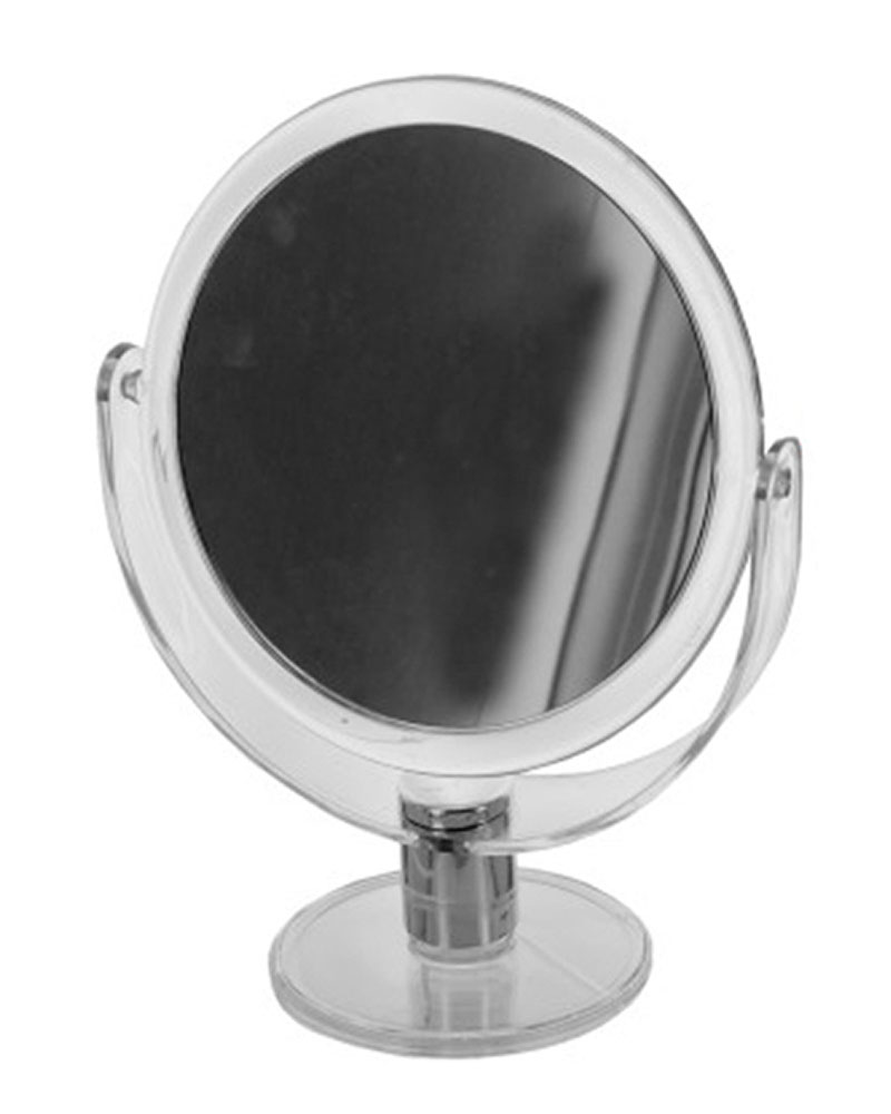 Dual Sided Round Stand Up Vanity Mirror - Pack of 4