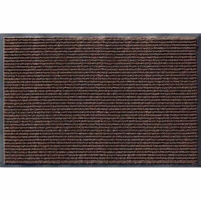 4' x 6' Apache Rib Mat Cocoa Brown