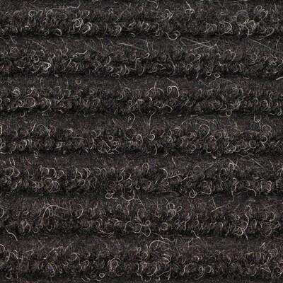 4' x 60' Chevron Rib Mat Charcoal