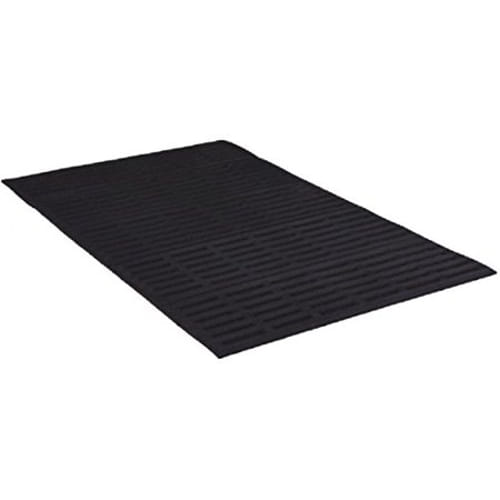 "2' x 22' Counter Tred Mat 1/2"" Slotted General Purpose Black"