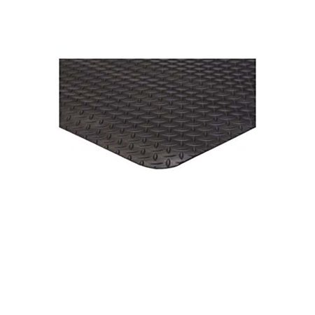4' x 75' Diamond Runner Black