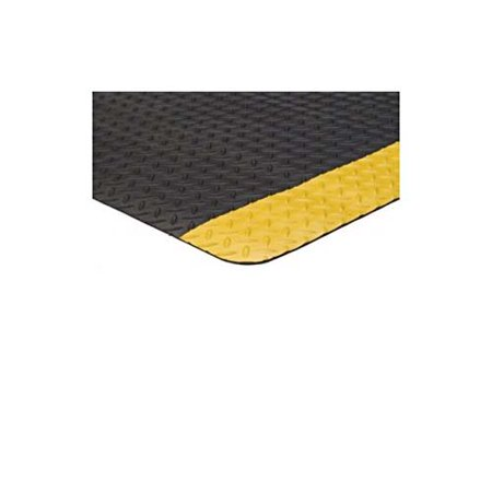 4' x 75' Diamond Runner Black/Yellow