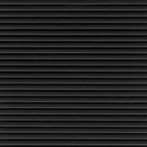 "2' x 105' Tuff Foot Matting 1/8"" Wide Ribbed Black"