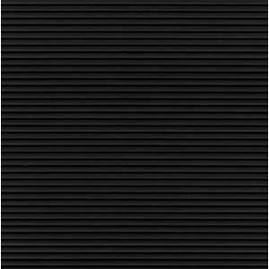 "2' x 105' Tuff Foot Matting 1/8"" Corrugated Black"