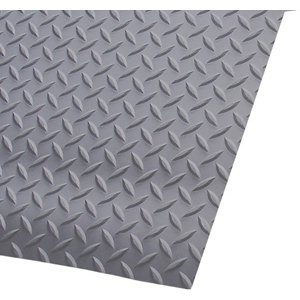 "3' x 75' 3/16"" Switchboard Diamond Deckplate Gray"