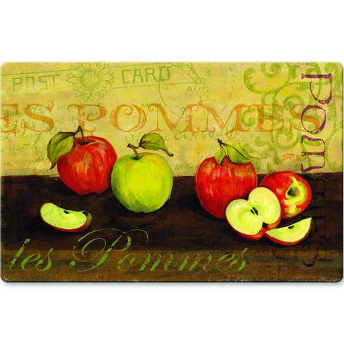 "18"" X 30"" Cushion Comfort - Stain Proof Mats LES POMMAS APPLES"