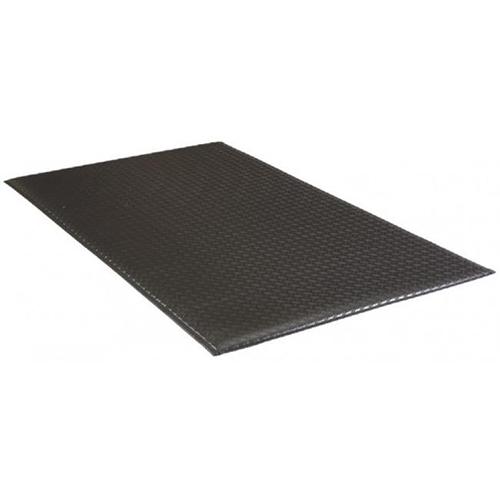 "2' x 3' Armorstep Mat 1/2"" Black Deckplate"
