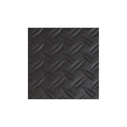 "4' x 60' 1/2"" Diamond Deluxe Soft foot Black"