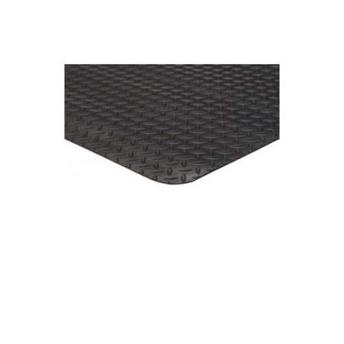 3' x 75' Diamond Runner Black