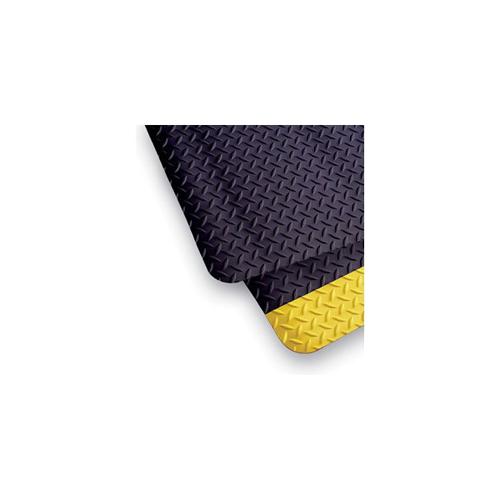 4' x 75' Diamond Runner Black/Yellow