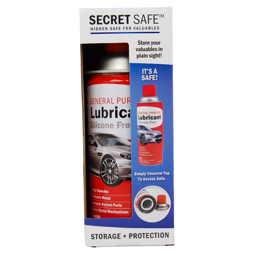 Lubricant Diversion Safe