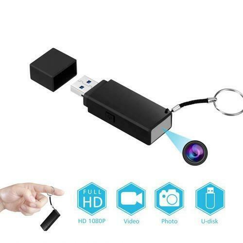 Mini USB Hidden Spy Camera with Built In DVR