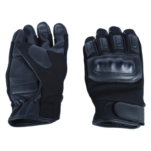Tactical Goat Leather Hard Knuckle Glove Large