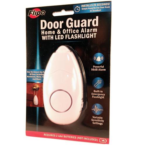 Door Guard Alarm 98db with Flashlight