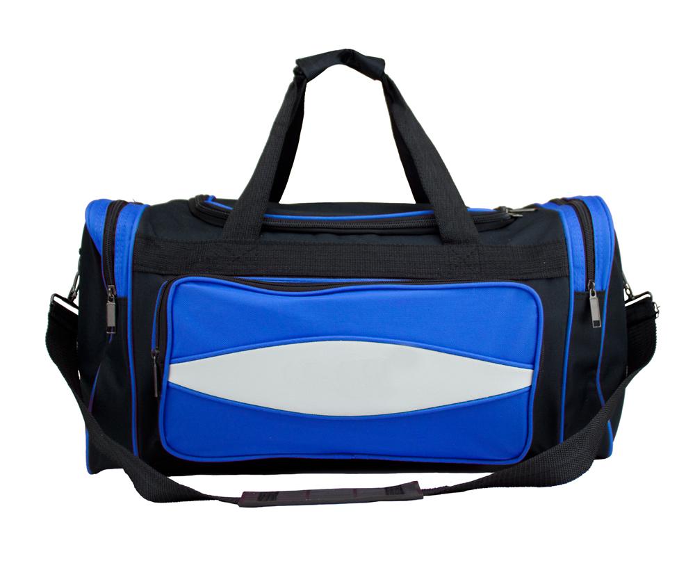 20 Inch Blue 600HD Tuff Cloth Canvas Duffel Bag