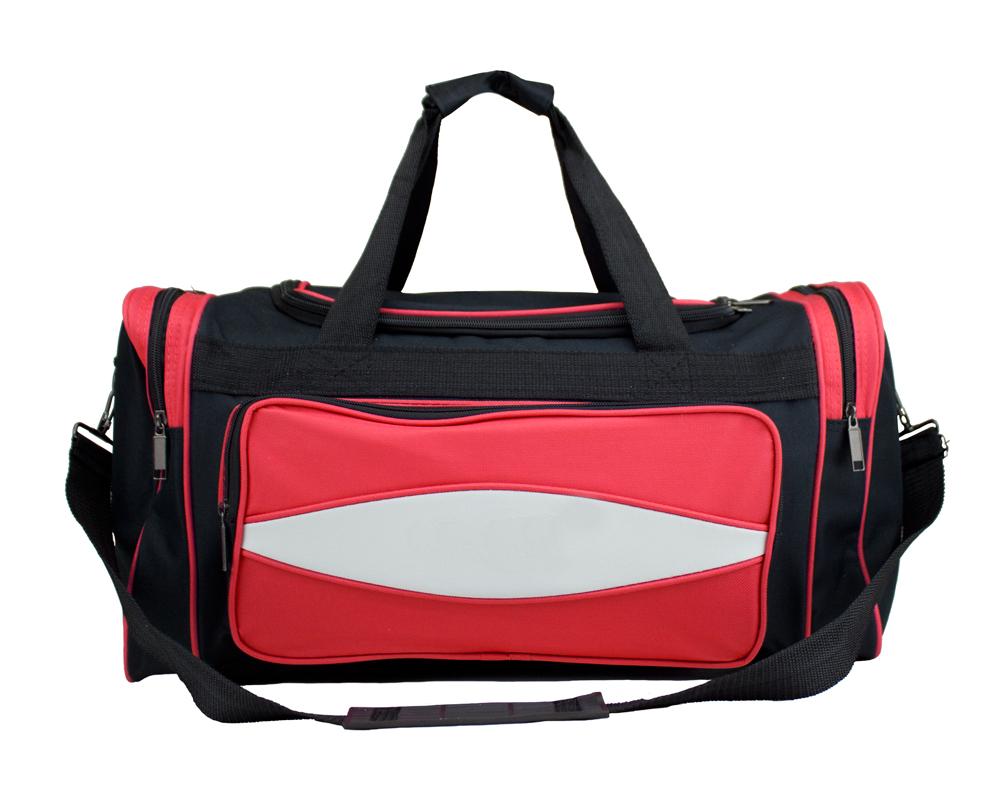 20 Inch Red 600HD Tuff Cloth Canvas Duffel Bag