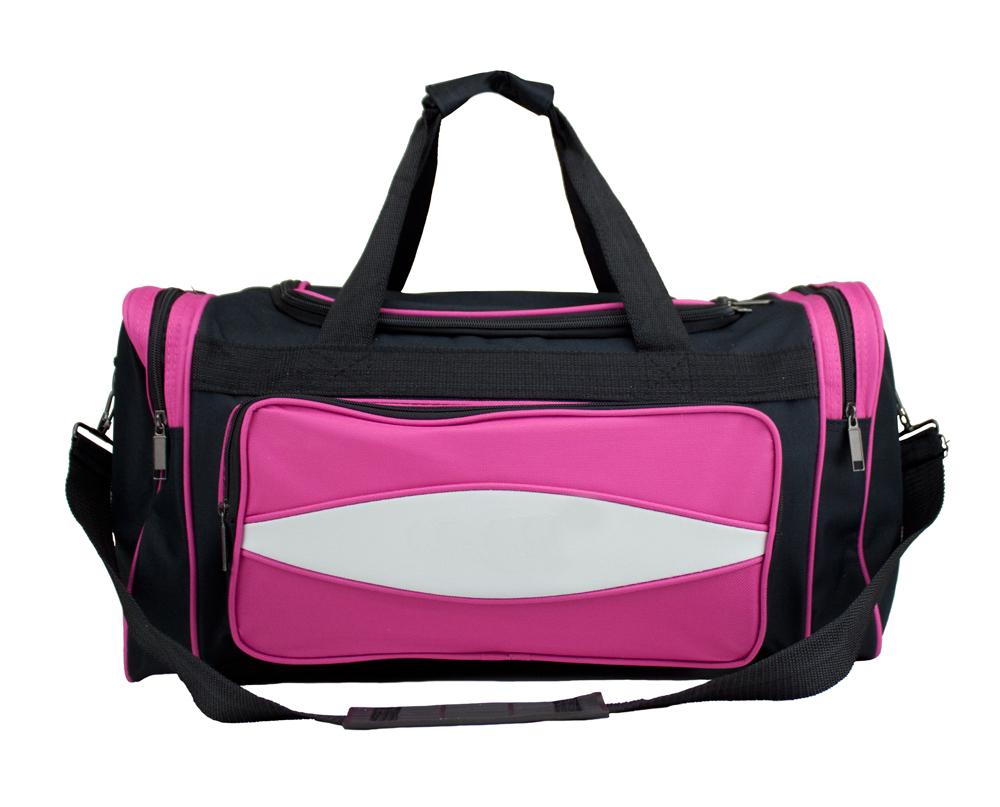 20 Inch Pink 600HD Tuff Cloth Canvas Duffel Bag